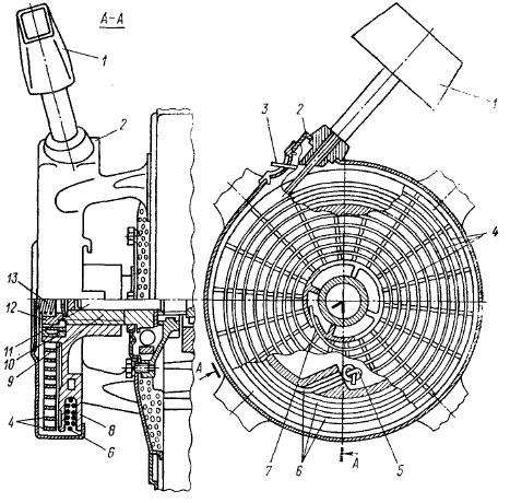 Схема устройства шнурового