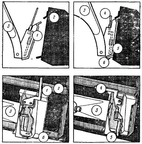 схема сцепного устройства